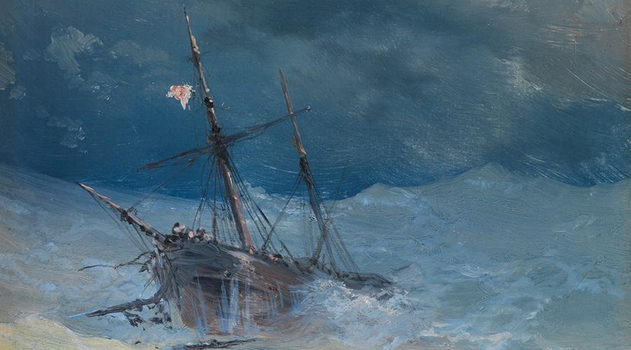 Ivan Aivazovsky Schiff