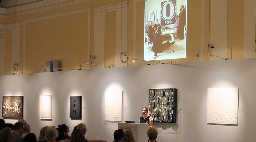 """Vortrag """"ZERO. Ein internationales Netzwerk"""", Lisa Zeitz, Weltkunst"""