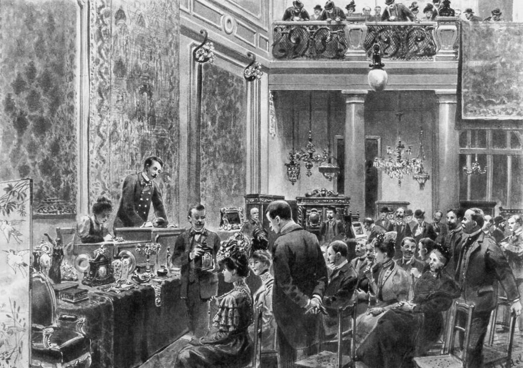 Geschichte des Dorotheum damals