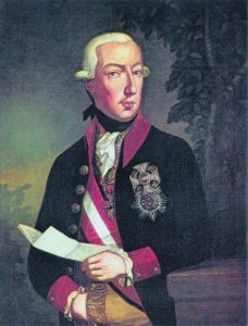 Joseph II. (1741–1790) painted by Josef Hickl (1800s)