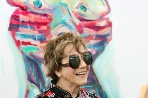 Maria Lassnig © Sepp Dreissinger 2007