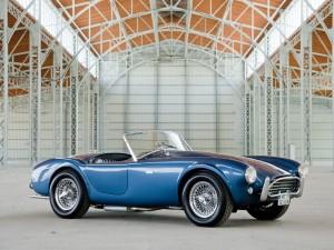 """1963 Shelby Cobra 289 Mk. I CSX2104, erste Cobra in """"Guardsman Blue"""", erzielter Preis € 1.012.000"""