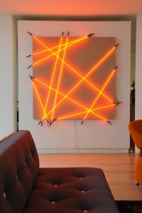 Licht Arbeit von François Morellet