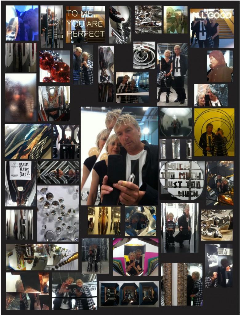 Collage aus Fotos und Selfies von Hedwig Van Impe und Remei Giralt