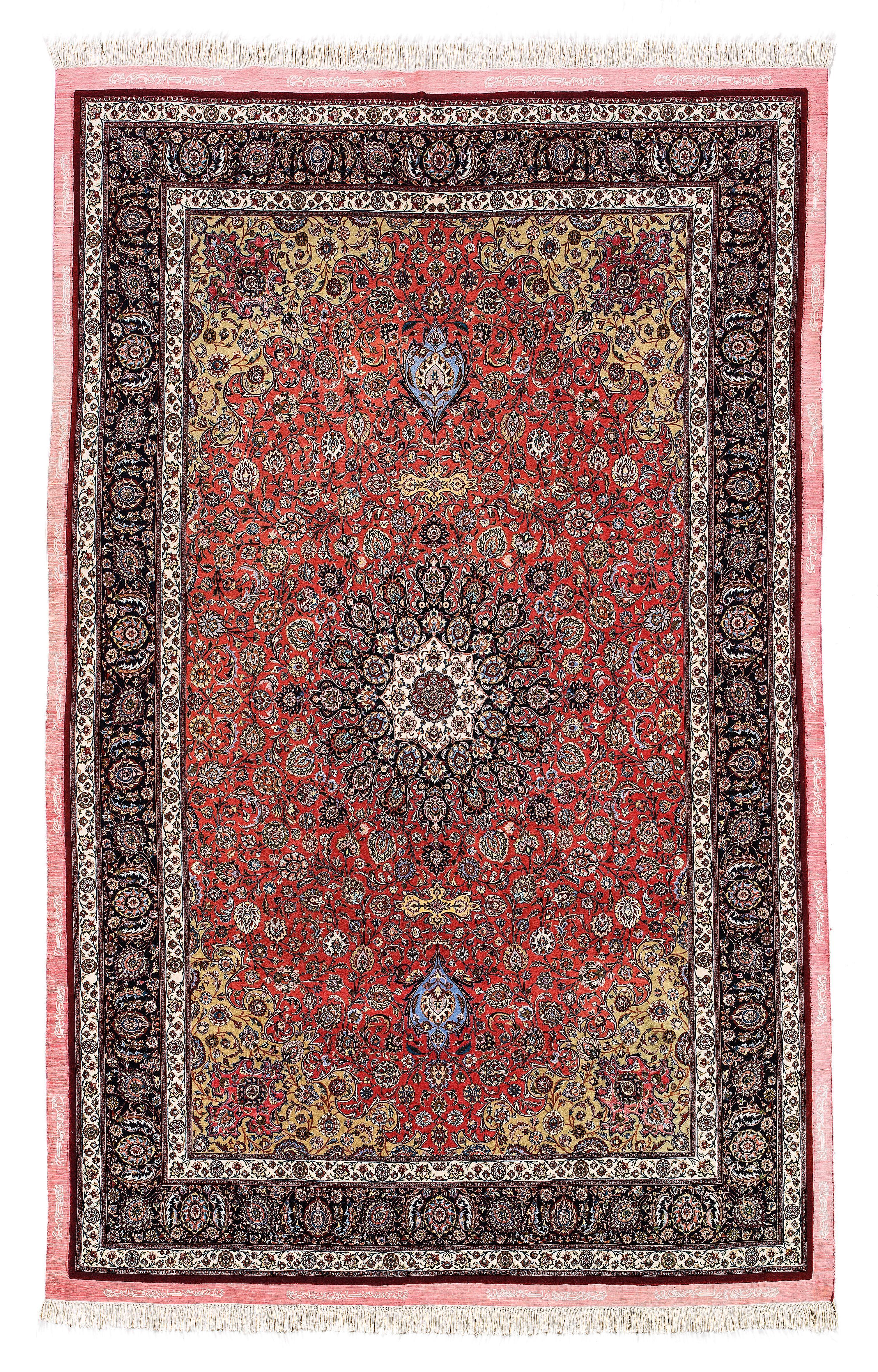 signierte teppiche aus persien und anatolien auktion. Black Bedroom Furniture Sets. Home Design Ideas