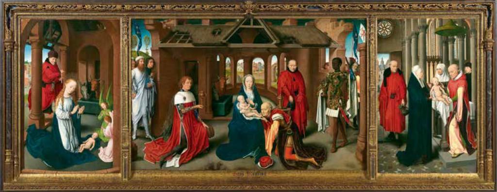 Triptychon Anbetung der Könige