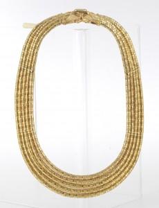 Lalaounis Collier Gold 750, Länge ca. 49 cm Schätzwert € 11.000 – 14.000 Auktion Juwelen 21. April 2016