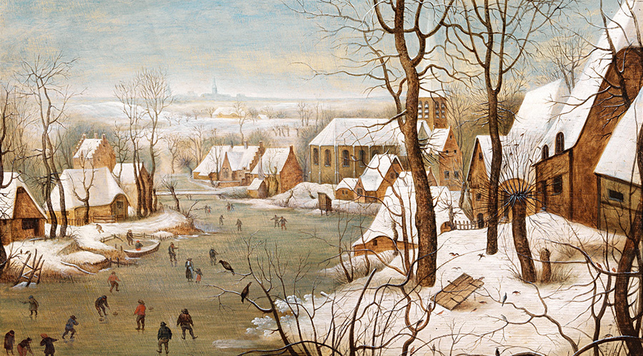 "Pieter Brueghel ""The Ice Trap"" / ""Die Eisfalle"""