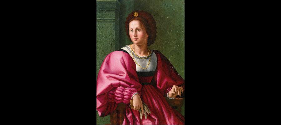 Portrait of a Lady, Jacopo Foschi