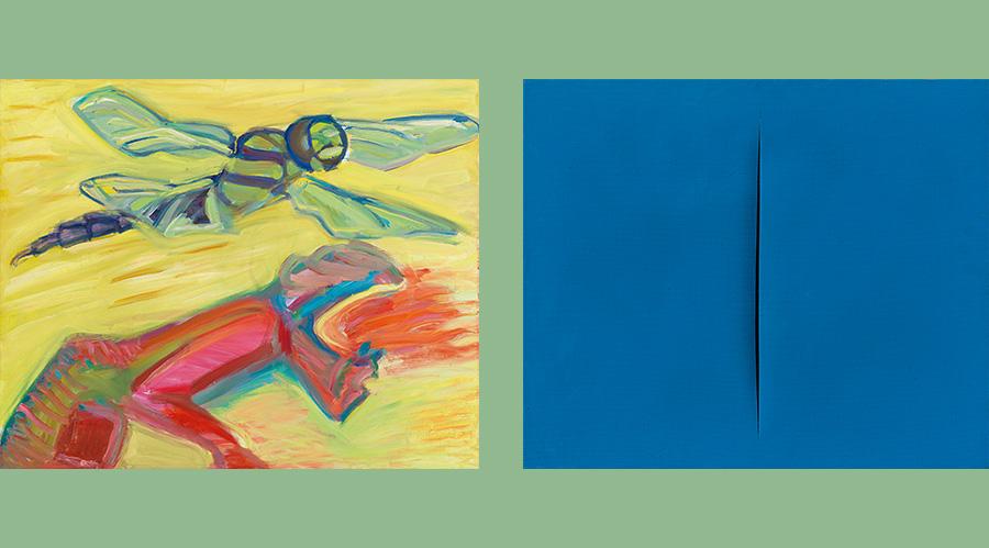 """Bilder aus der Auktion """"Moderne und Zeitgenössische Kunst"""" (Auschnitt)"""