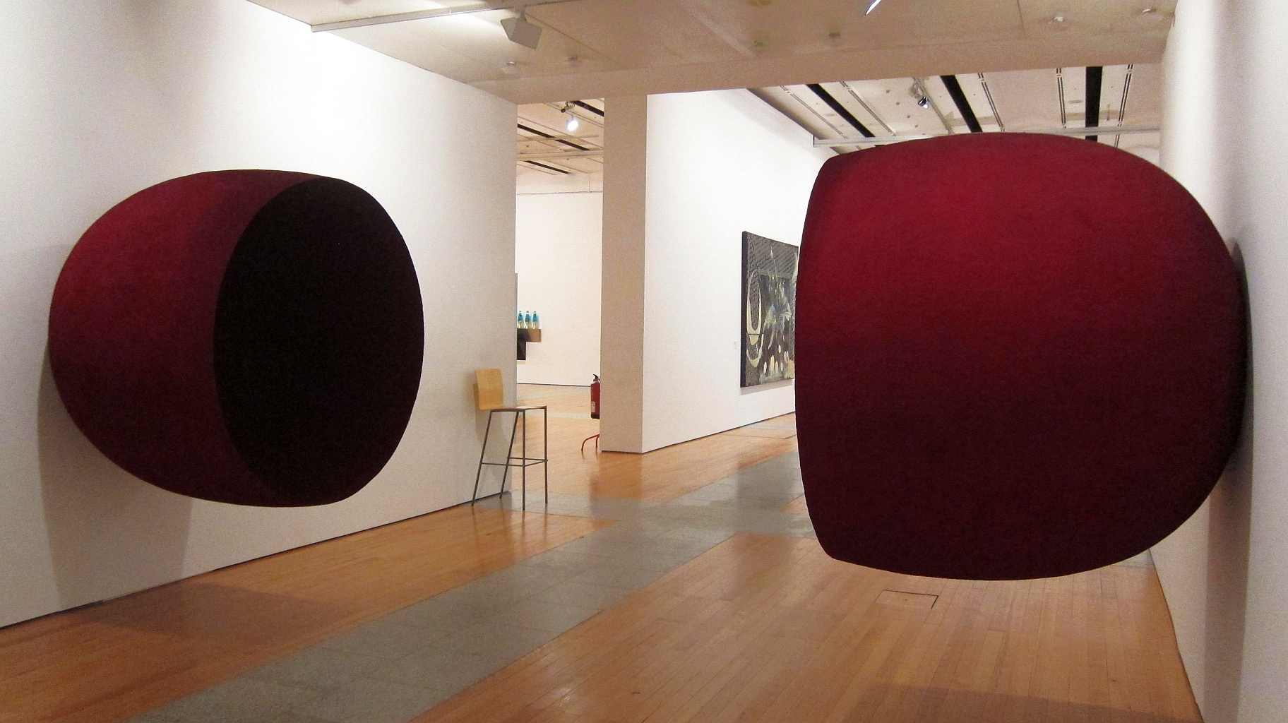 "Anish Kapoor's ""Eyes Turned Inward"" (1993) at the Centro Cultural de Belém in Lisbon; Photo: Bosc d'Anjou via CC"