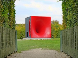 "Anish Kapoor ""Sectional body preparing for monadic singularity"" sculpture"