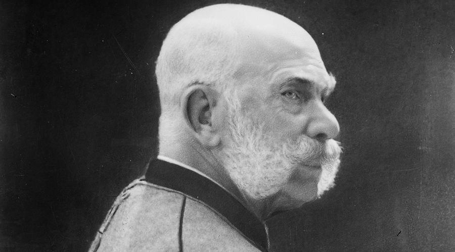 Kaiser Franz Joseph I., 1910, © ÖNB