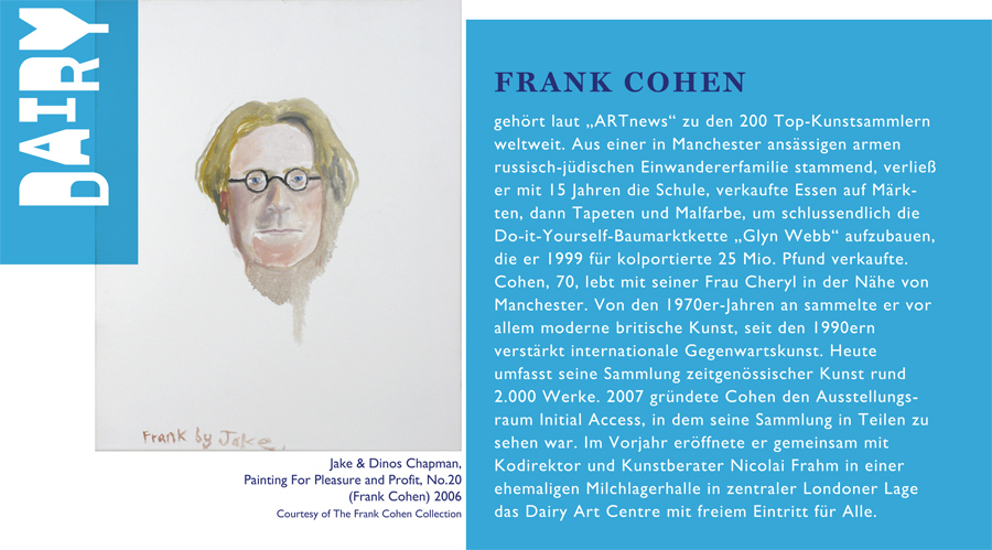 Frank Cohen Biografie