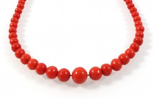 Coral necklace, starting price: €600