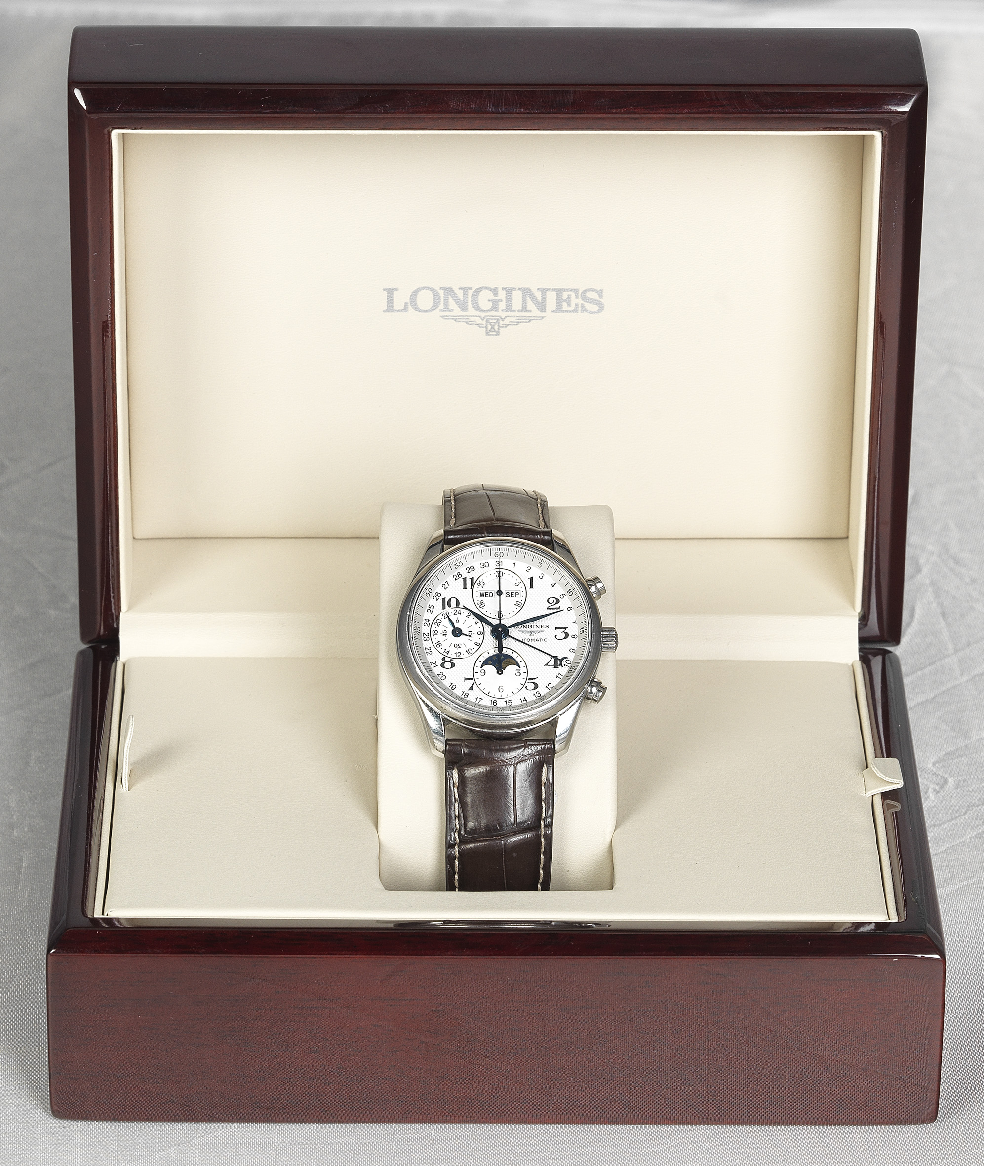 Longines Mastercollection Edelstahl