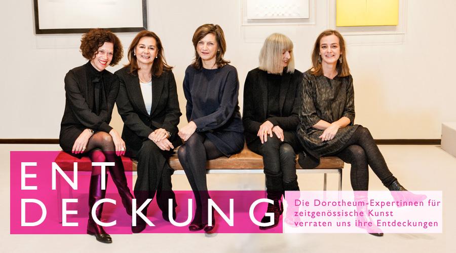 Expertinnen zeitgenössische Kunst Dorotheum