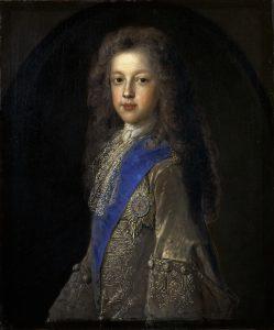 Jean-François de Troy Prinz James Francis Edward Stuart 1688–1766 Sohn von Jakob VII. bzw. II., 1701