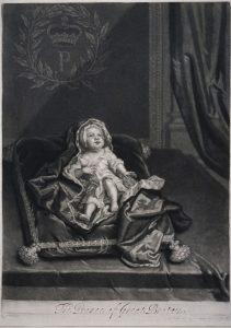 Sir Godfrey Kneller / John Smith Prinz James Francis Edward Stuart, 1688–1766 Sohn von Jakob VII. bzw. II., 1688