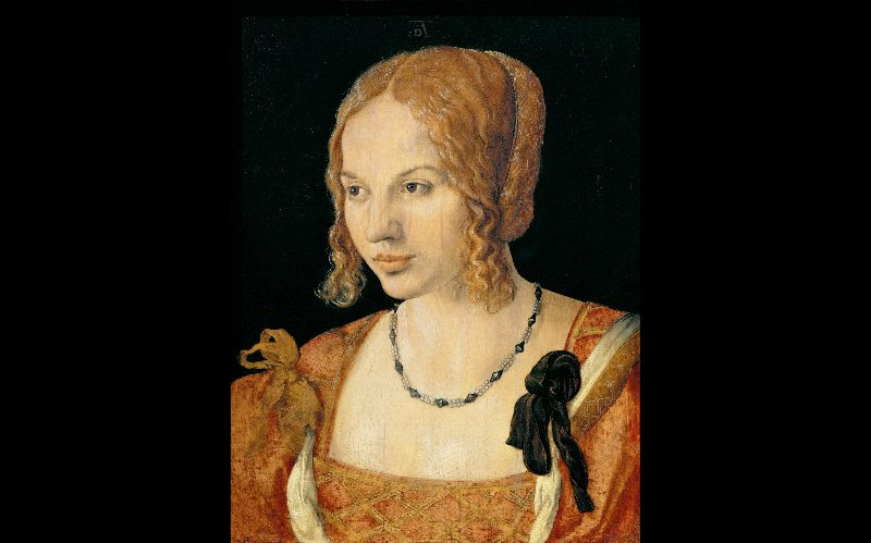 Albrecht Dürer - Portrait of a Young Venetian Woman