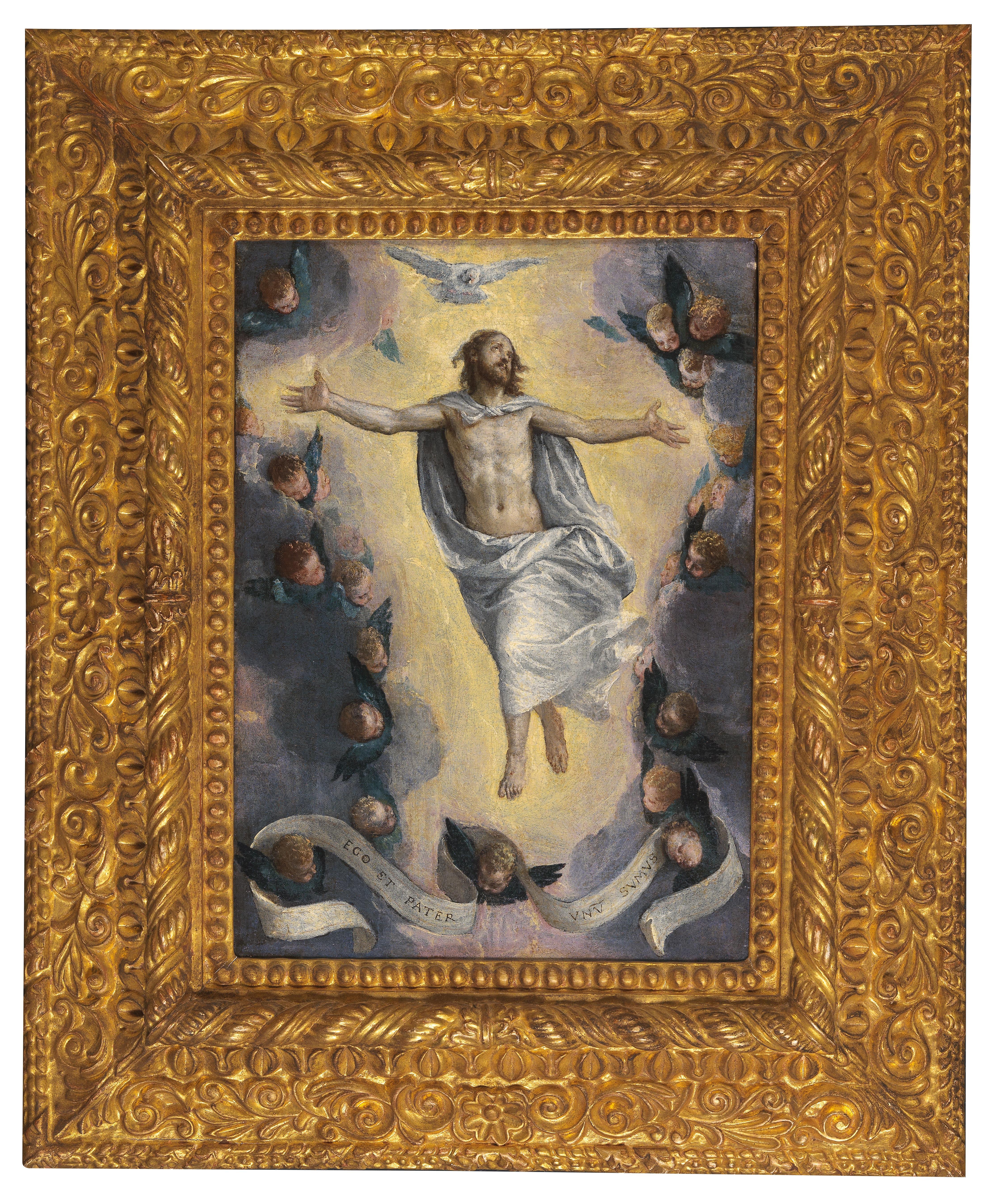 Paolo Caliari gen. il Veronese (1528–1588) Christus in Gloria Öl auf Leinwand, 42 x 30 cm, erzielter Preis € 149.922