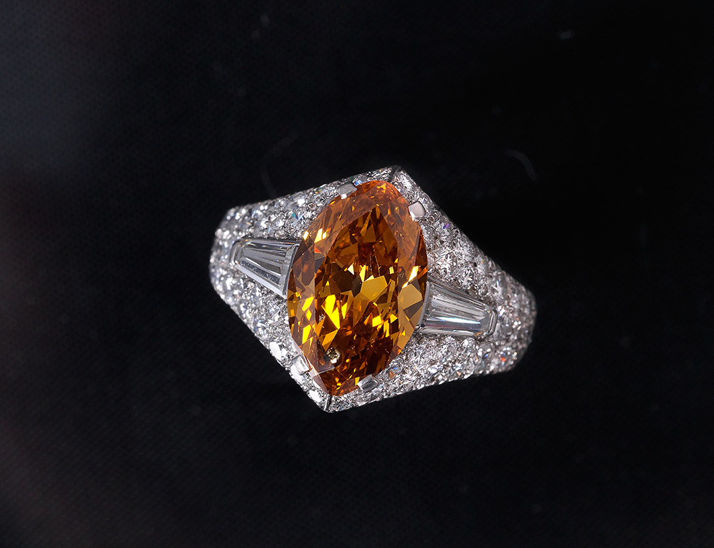 Bulgari, diamond ring, price achieved €87,500