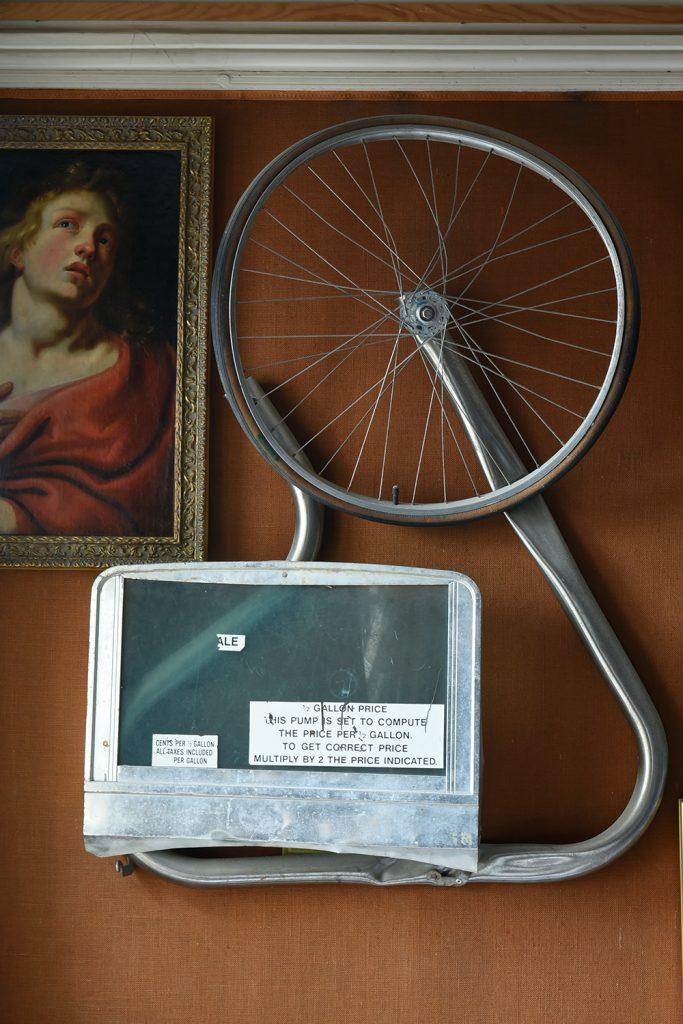 Robert Rauschenbergs Hommage à Duchamp Porträt Saint Jean Künstler Reifen