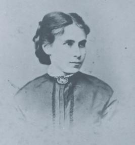 Tina Blau, um 1860-65, © Tina Blau Archiv