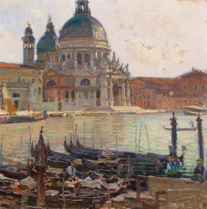 Carl Moll, Santa Maria della Salute, 1923