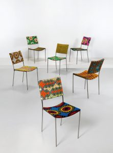 "Franz West, six ""Kodu"" chairs"