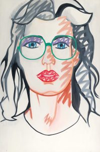 "Tom Wesselmann, Nancy Scribble"", 1983"