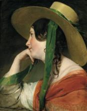 Friedrich von Amerling, Mädchen mit Strohhut, Öl auf Leinwand, 58 x 46 cm, erzielter Preis € 1.502.000