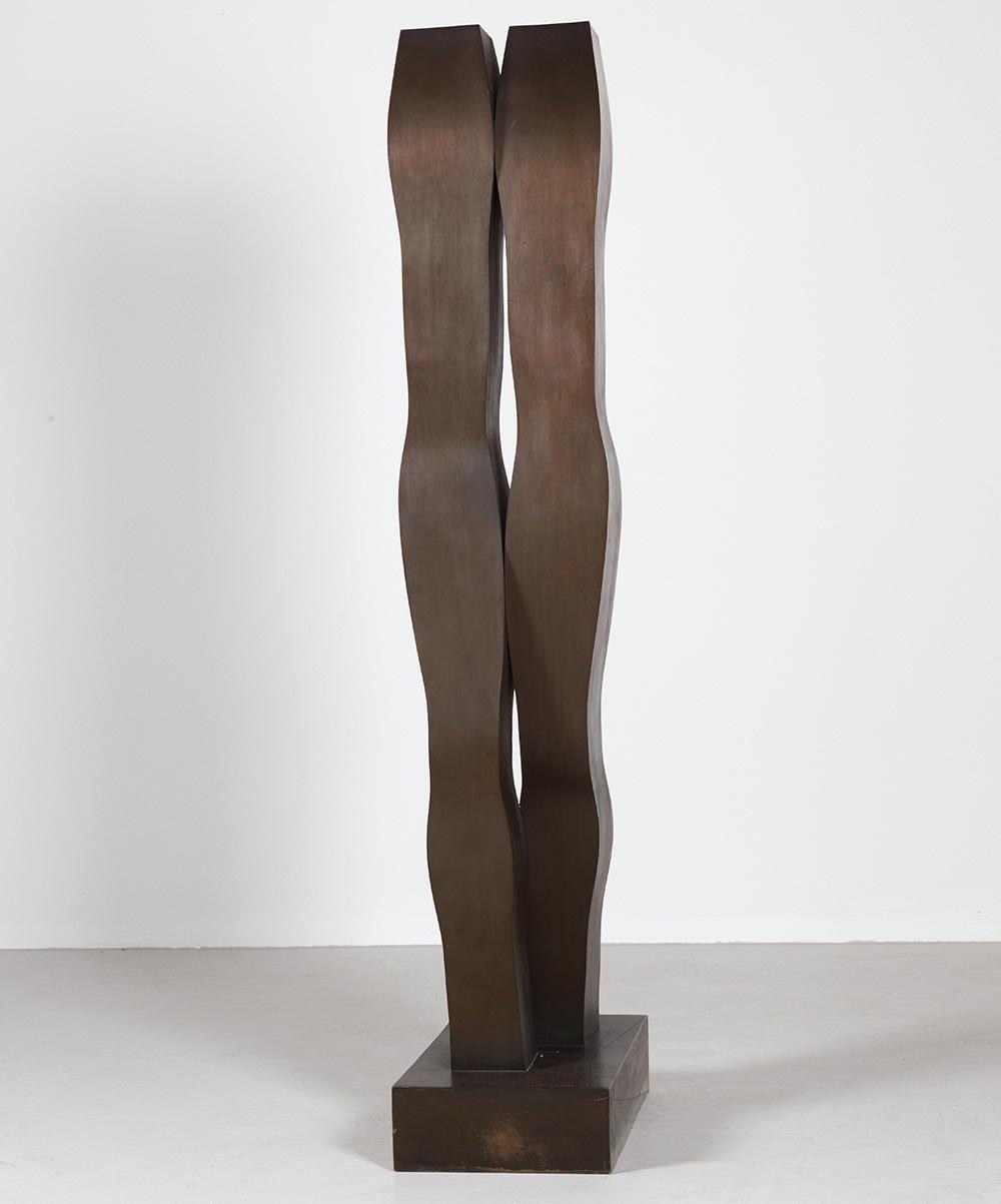 """Joannis Avramidis """"Der Schreitende"""",1966-69, Bronze, erzielter Preis € 159.959"""