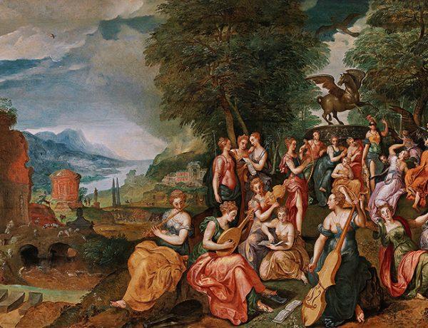 Auktionswoche April 2017: Marten de Vos, Der Wettstreit zwischen den Musen und den Pieriden - Alte Meister 25. April 2017, € 150.000 - 250.000