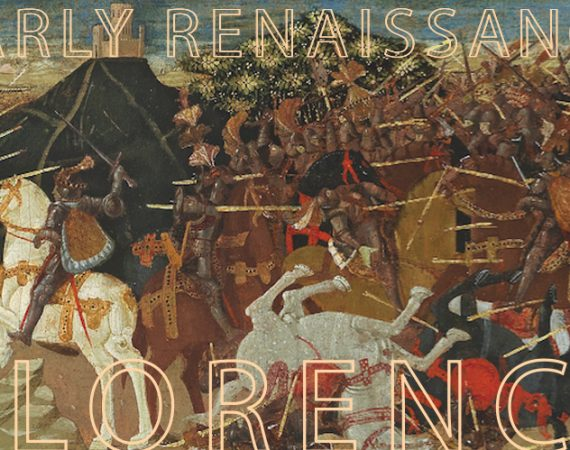 Apollonio di Giovanni (1416-1465), The Battle of Pharsalus, tempera with gold on panel, 40.5. x 157.2 cm, realised price € 674,000