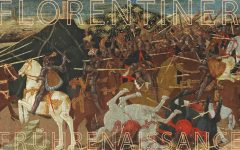 Apollonio di Giovanni, Die Schlacht von Pharaos, Tempera mit Gold auf Holz, 40,5 x 157,2 cm, erzielter Preis € 674.000