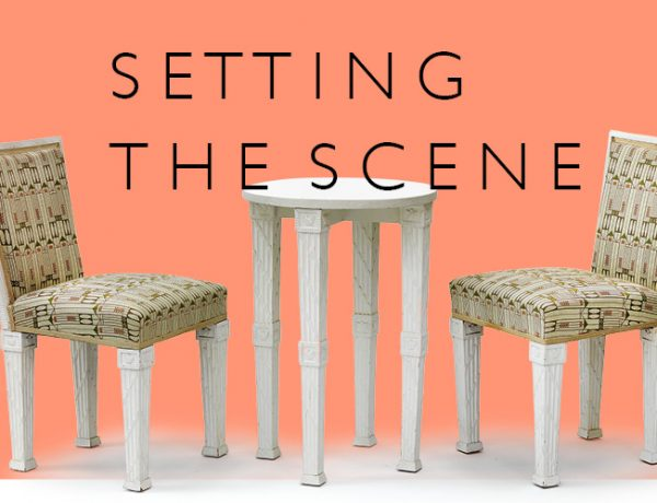 Dagobert Peche, Three part seating set