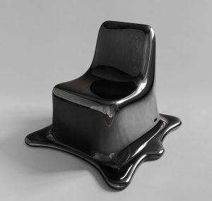 Phillip Aduatz, Melting Chair, Schätzwert € 8.000 - 10.000