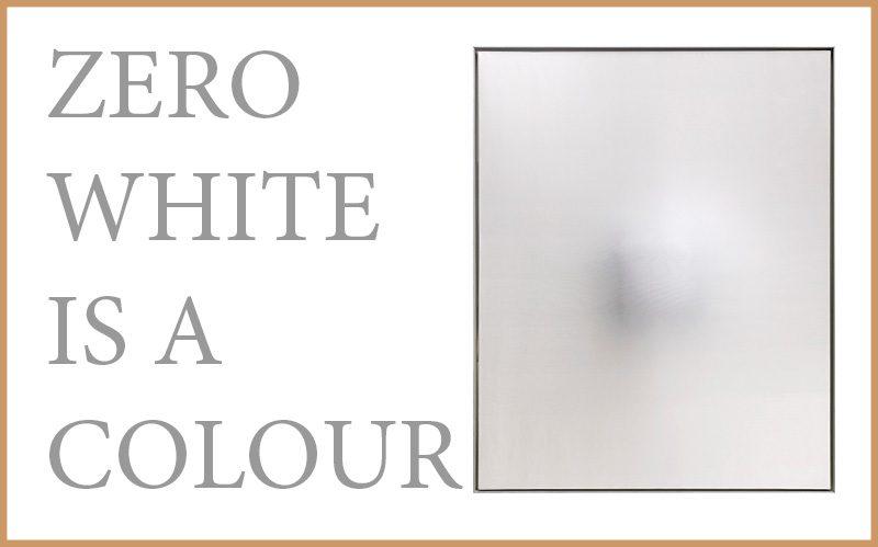 Zero - white is a colour