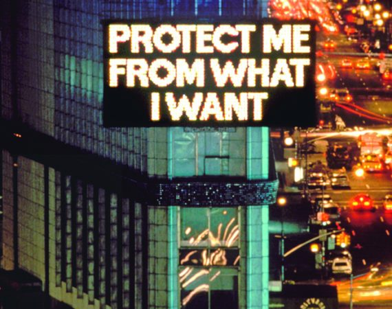 From Survival (1983–85), 1985 © 1985 Jenny Holzer, Member Artists Rights Society (ARS), NY Photo: John Marchael