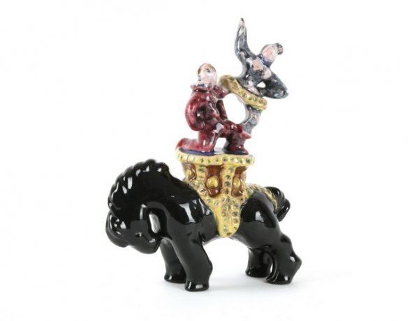Zirkuspferd Reni Schaschl