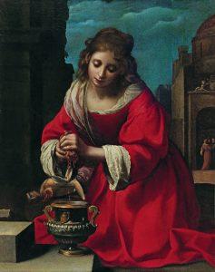 Die heilige Praxedis