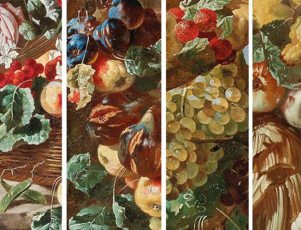 Giovanni Paolo Castelli, gen. Lo Spadino, Allegorie des Frühlings, Sommers, Herbsts und Winters, Öl auf Leinwand, je 131 x 94 cm, je € 80.000 – 120.000