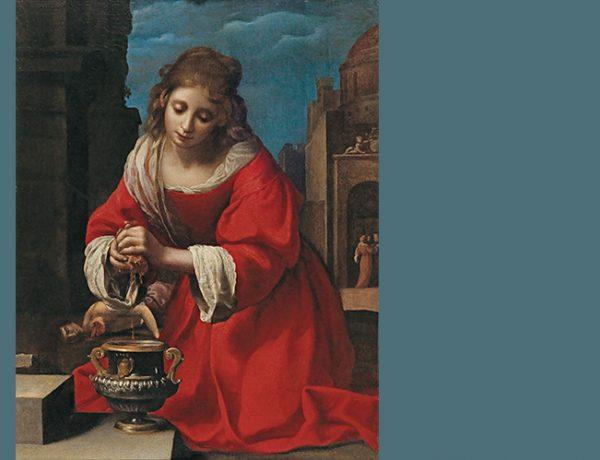 Praxedis painting