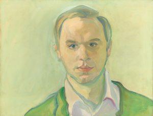 """Maria Lassnig """"Portrait Roland von Schulze"""""""