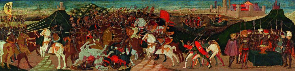 Apollonio di Giovanni; Schlacht von Pharsalus