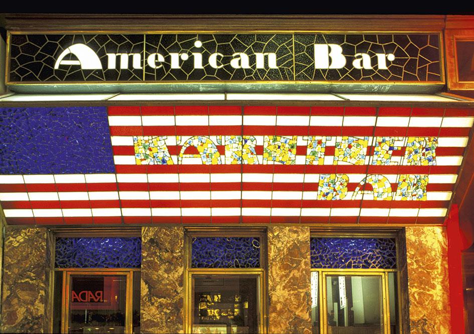 Die American Bar, die Kärntner Bar oder schlicht die Loos Bar