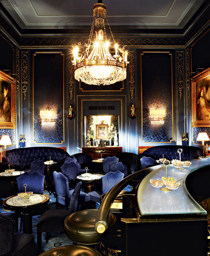 Hotel Sacher, Blaue Bar, Foto: Hotel Sacher