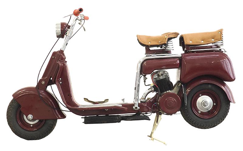 1948 Lambretta 125 m, FIN: 8107, Motor: 8134, Österreichische Einzelgenehmigung von 1948