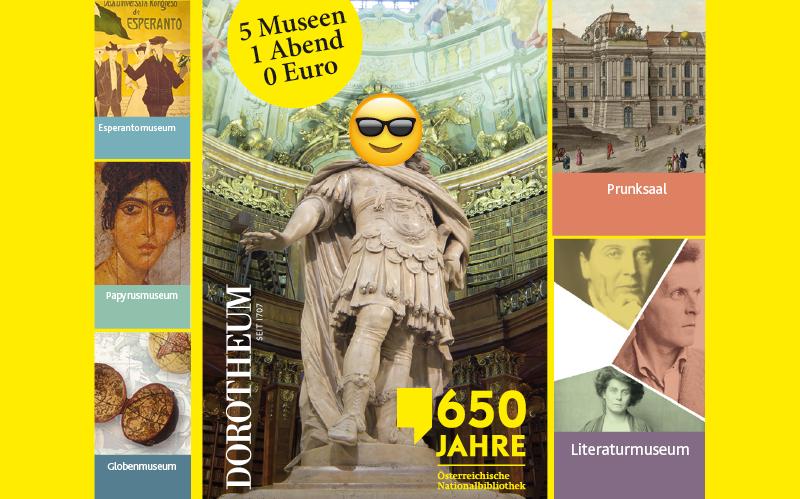 Mit dem Dorotheum in die Museen der ÖNB - 5 Museen, 1 Abend, 0 Euro